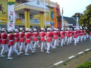 Bendera pengiring pasukan