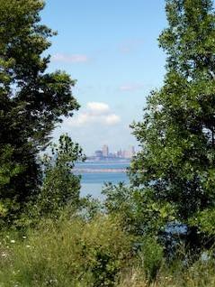 faroles Milwaukee, el agua, el lago