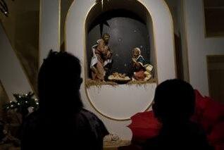 escena de la natividad, navidad