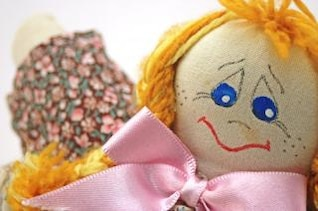 moda muñeca hecha a mano, juego