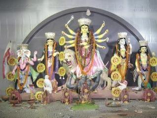 diosa Durga maa
