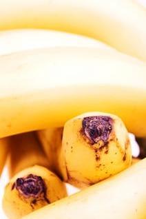 Fruta de los plátanos