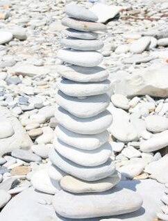 piedras, la armonía