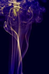 ola de humo suave abstracta