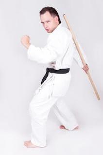 deportista, karate, kung-fu