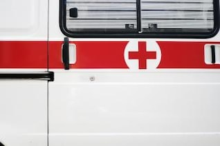 ambulancia de primer plano