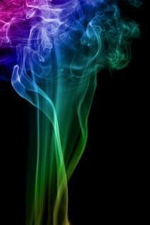 humo de color