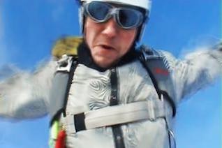 paracaidista instantánea