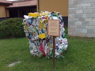 basura reciclada