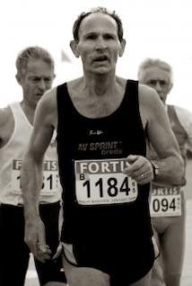 hombre corriendo maratón