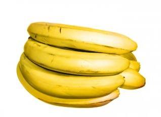 comida sólo los plátanos