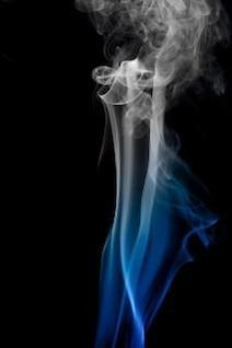 fondo de olor a humo de color aroma