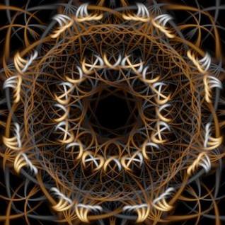 textura abstracta atrapasueños