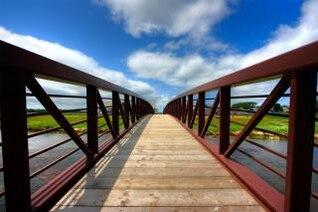 pei país puente hdr imagen