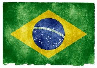 brasil bandera del grunge