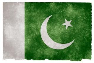 pakistan grunge orgulloso bandera