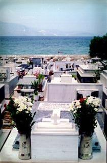 cementerio en el mediterráneo
