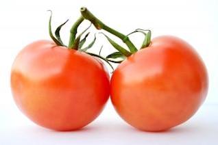 tomates gemelas