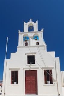 Iglesia de Santorini