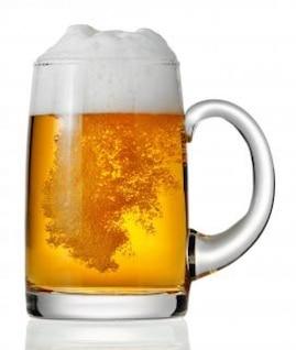 beber cerveza taza