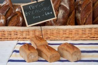 marrón pan francés