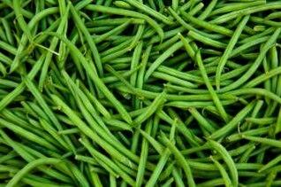 frijoles, salud, verde