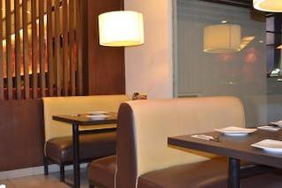 restaurante de diseño de interiores