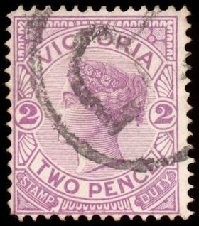 violeta reina victoria sello