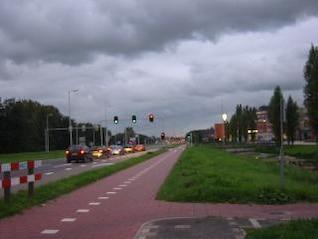 semáforos, por carretera