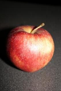 manzana roja, de alimentos