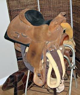 silla de montar, montar a caballo