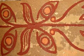patrón de las tribus africanas