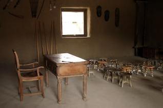 africano sala de la enseñanza