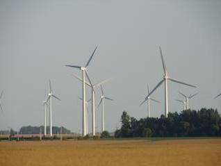 parque eólico, el viento