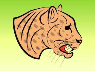 Jaguar clip art Dangerous
