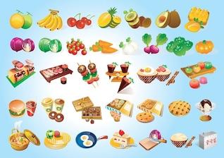 gráficos sin alimentos