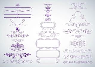 gráficos decorativos vector