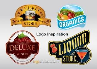 inspirador gráficos vectoriales logo