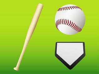 Baseball Game Gear iconos gráficos