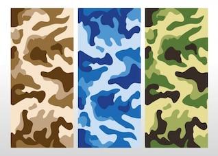 camuflaje vector patrón