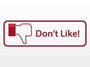 Facebook networking aversión vector botón