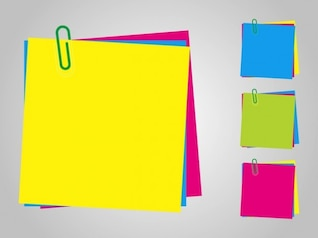 post-it de colores