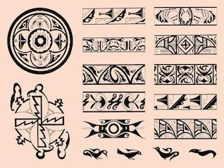tribus ornamento del zuñi