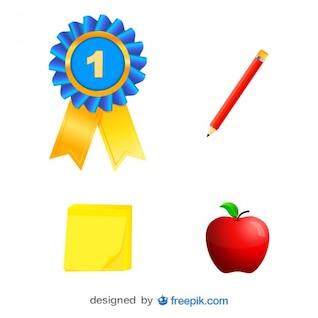 Paquete de gráficos de elementos de competencia
