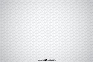 Fondo 3d con ilusión geométrica en blanco