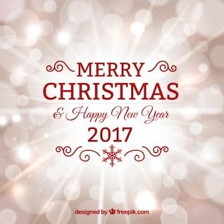 Feliz año nuevo diseño rojo minimalista