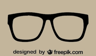 Imagen vectorial de gafas