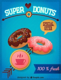 Gráfico de donuts, formato vectorial