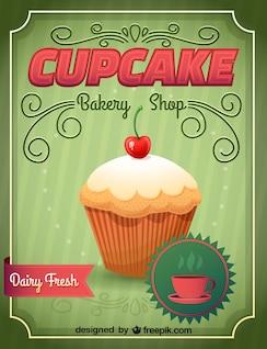 Imagen cupcake en formato .ai