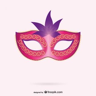 Máscara veneciana, formato vectorial